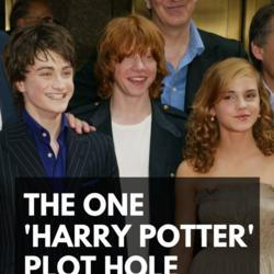 'Harry Potter' Has One Huge Plot Hole You Might've Missed