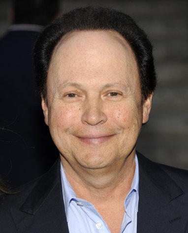 FILE - This April 17, 2012 file photo shows actor Billy Crystal attends the Vanity Fair Tribeca Film Festival party at the State Supreme Courthouse in New York. Crystal is among several celebrities headed to New Orleans this week to celebrate and promote life after 50. More than a dozen celebrities are hosting talks and activities for aging Americans at the national conference of the AARP, which runs Thursday through Saturday at the Ernest N. Morial Convention Center and is expected to attract some 20,000 attendees. (AP Photo/Evan Agostini, file)