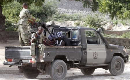 Islamist gunmen attack African Union base in Somalia