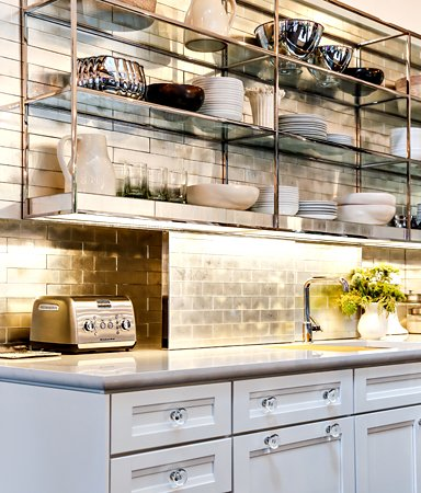 Stunning backsplashes to transform a kitchen gold davlin