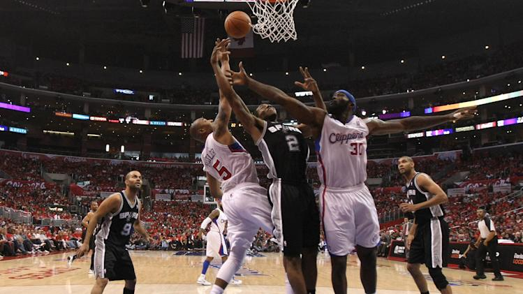 San Antonio Spurs v Los Angeles Clippers - Game Three