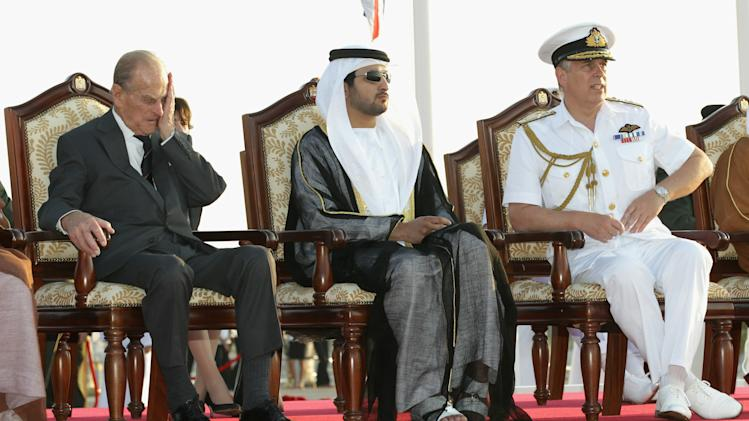 Queen Elizabeth II And Prince Philip Visit Abu Dhabi - Day 2