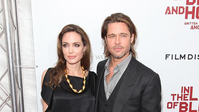 In the land of Blood and honey NY Premiere 2011 Angelina Jolie Brad Pitt