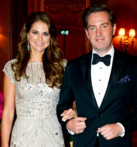 Princess Madeleine of Sweden Pregnant, Expecting First Child With Husband Christopher O'Neill!