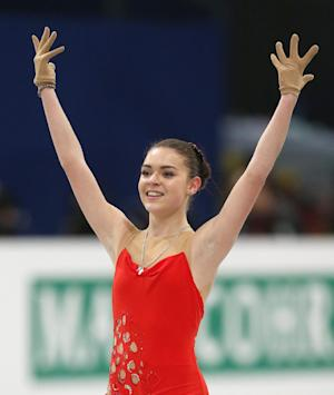 Sotnikova leads Europeans after short program