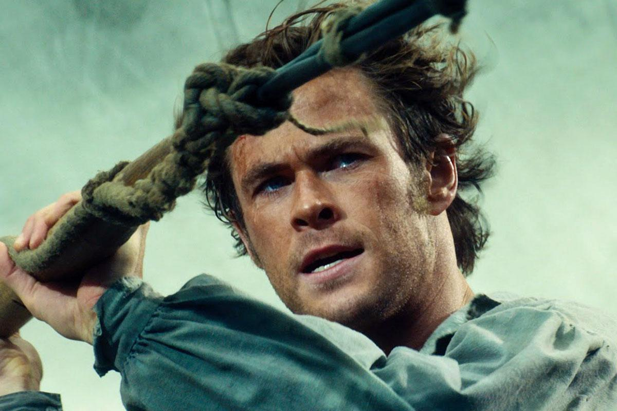 Chris Hemsworth is barely recognizable after his extreme 'In the Heart of the Sea' regimen