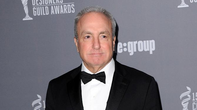 """FILE - This Feb. 19, 2013 file photo shows producer Lorne Michaels at the 15th Annual Costume Designers Guild Awards at The Beverly Hilton Hotel in Beverly Hills. Michaels is the longtime producer of """"Saturday Night Live."""" (Photo by Jordan Strauss/Invision/AP, file)"""