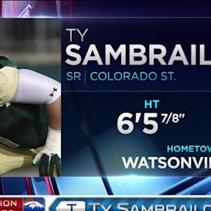 Denver Broncos pick tackle Ty Sambrailo No. 59 in 2015 NFL Draft