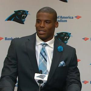 Carolina Panthers quarterback Cam Newton: New contract accelerates my drive