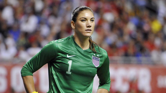 US soccer star Hope Solo enters not guilty plea
