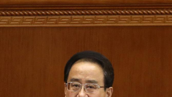 File photo of Ling, newly elected vice chairman of the the CPPCC, pausing during the CPPCC in Beijing