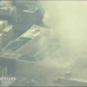 Building Explodes, Collapses In NYC