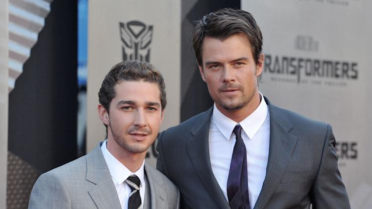 Transformers Revenge of the Fallen LA Premiere 2009 Shia LaBeouf Josh Duhamel