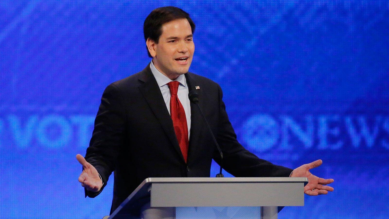 How Rubio's Debate Stumble Could Derail Him as the 'Establishment Candidate'