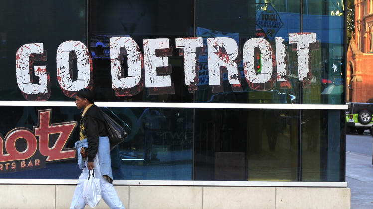Still on the rebound, Detroit hosts World Series