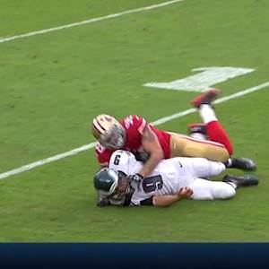 San Francisco 49ers defense holds on 4th down