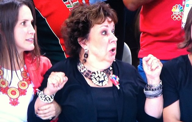 Michael Phelps' Mom Reacts to Second Place