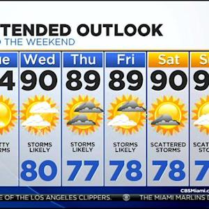 CBSMiami.com Weather 7/29/2014 Tuesday 6AM