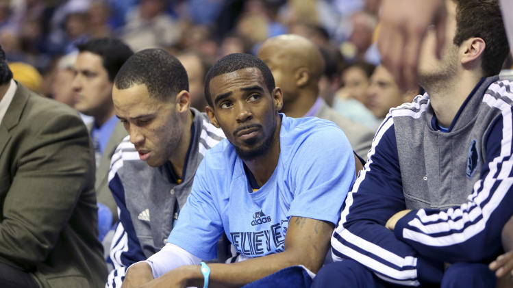 NBA: Playoffs-Oklahoma City Thunder at Memphis Grizzlies