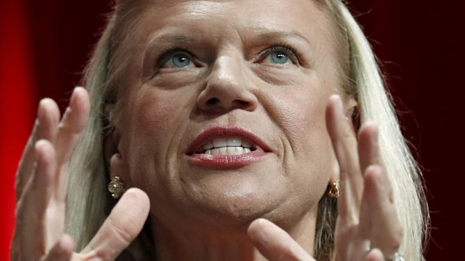 IBM's President and CEO Ginni Rometty speaks at Fortune's Most Powerful Women's Summit in Washington