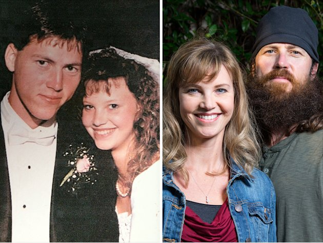 Phil and Kay Robertson from their high school days. Kay was only 16