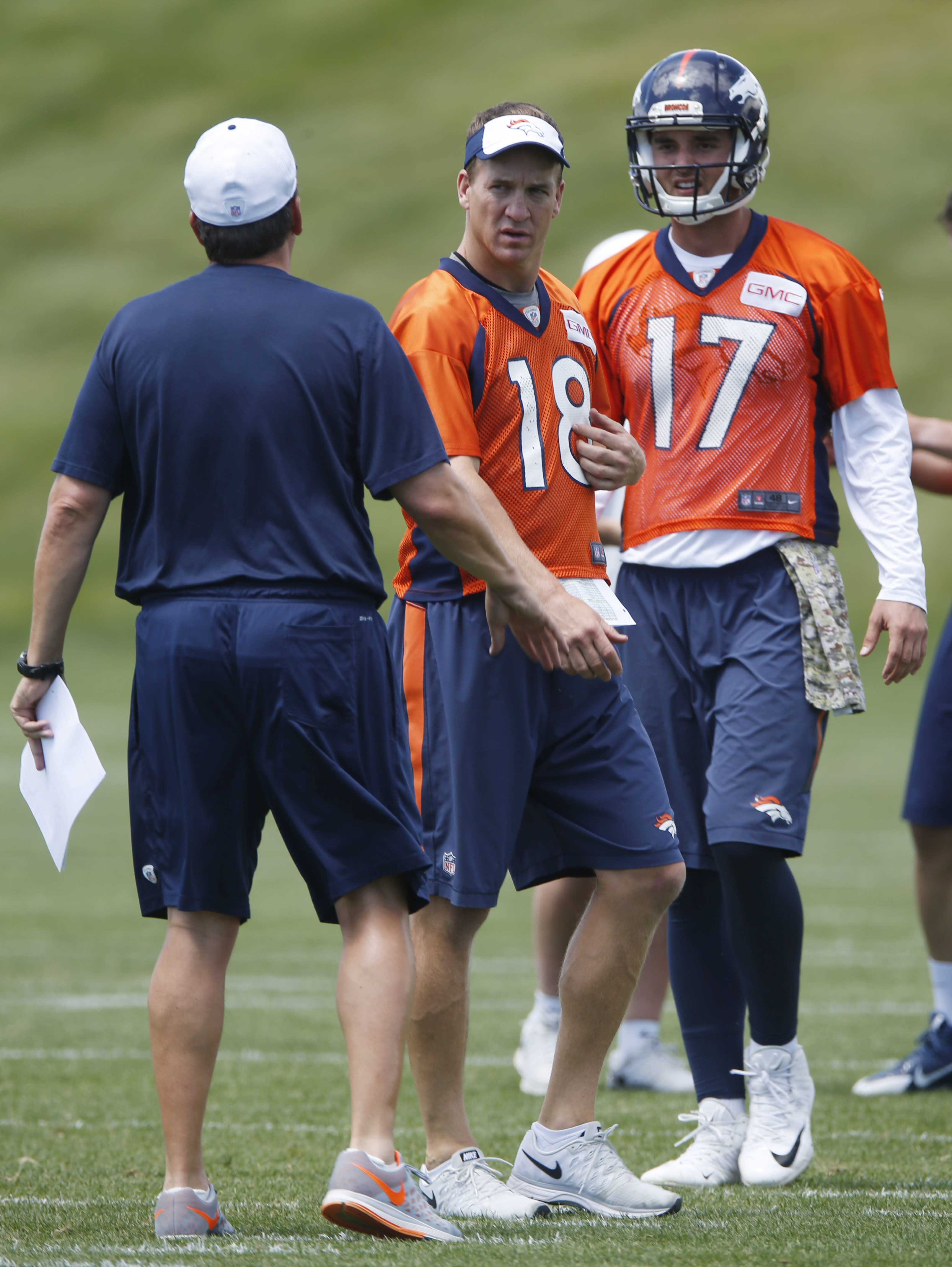 Brock Osweiler makes most of Peyton Manning's day off