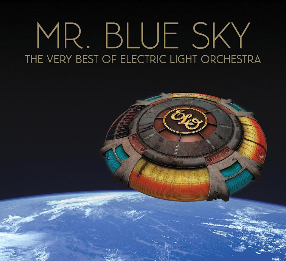 "This CD cover image released by Frontiers Records shows ""Mr. Blue Sky: The Very Best of Electric Light Orchestra."" (AP Photo/Frontiers Records)"