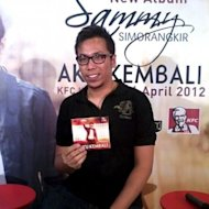 Sammy Simorangkir Launching Album Perdana