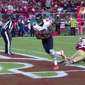 Chicago Bears wide receiver Brandon Marshall 5-yard TD reception