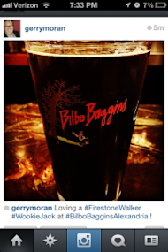 Craft Beer Marketing: How To Use Social Media To Promote Your Craft Beer Bar image Bilbo Baggins Instagram 200x300