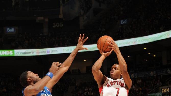 Lowry scores 33 as Raptors beat Magic 98-83