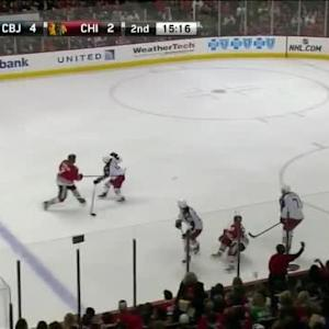 Sergei Bobrovsky Save on Brent Seabrook (04:45/2nd)
