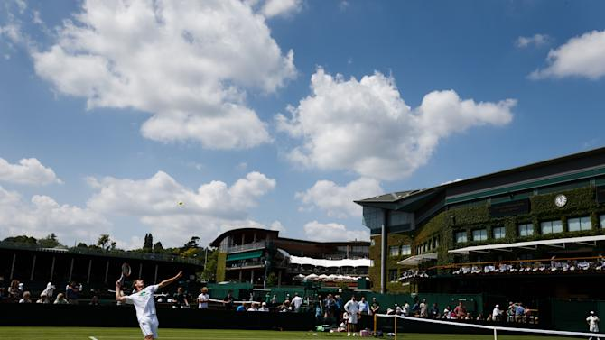 WIMBLEDON 2014: No 'Fred Perry, 1936' references