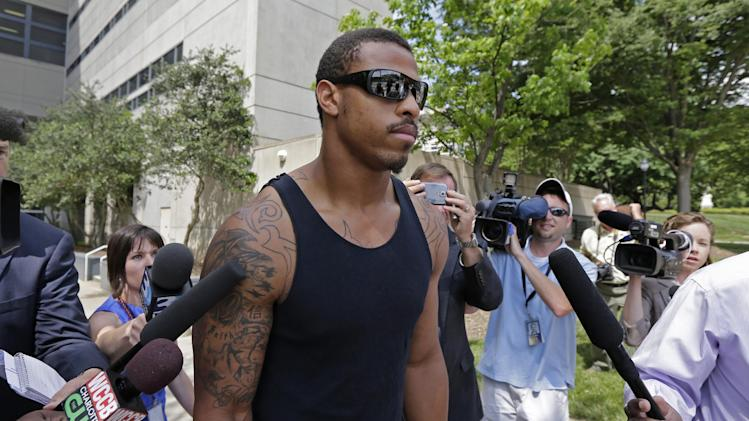 Panthers DE Hardy turns over 10 guns to police