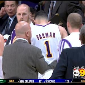 Lakers Lose Farmar To Torn Hamstring For 4 Weeks