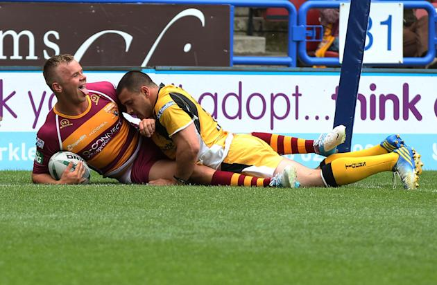 Rugby League - Super League - Huddersfield Giants v Castleford Tigers - John Smith's Stadium