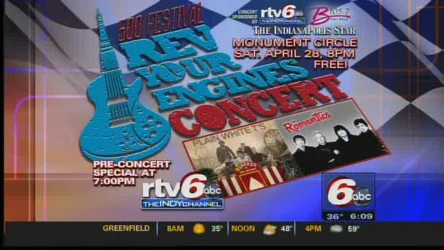 'Rev Your Engines' Concert Kicks Off Indy 500 Month