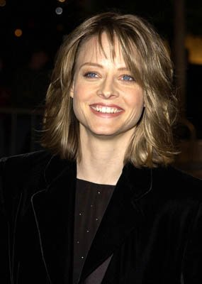 Jodie Foster at the LA premiere of Columbia's Panic Room