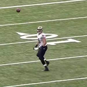 New Orleans Saints quarterback Drew Brees 34-yard TD pass to tight end Josh Hill