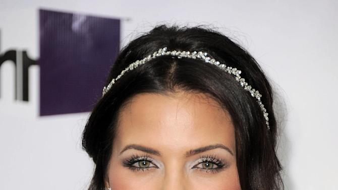 FILE - In this Sunday, Dec. 16, 2012 file photo, Jenna Dewan-Tatum arrives at VH1 Divas at the Shrine Auditorium in Los Angeles. Dewan-Tatum and husband, actor Channing Tatum are expecting their first child in 2013, their reps confirm. (Photo by Jordan Strauss/Invision/AP, File)