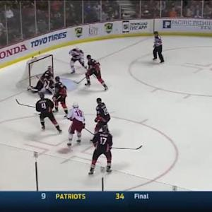 Frederik Andersen Save on Shane Doan (06:07/3rd)