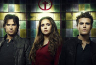 Ian Somerhalder, Nina Dobrev, Paul Wesley | Photo Credits: Justin Stephens/The CW