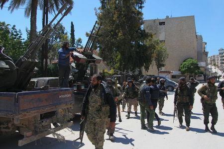 Islamist rebels capture army base in Syria's Idlib province