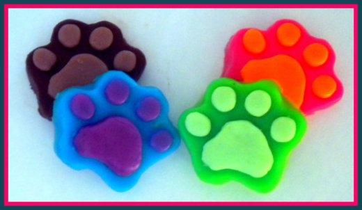 Pawprint Soap