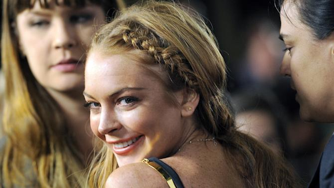 Lindsay Lohan vows her troubled past is behind her