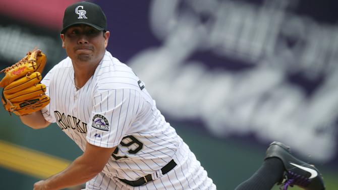 Rockies hold on for 8-7 win over Dodgers