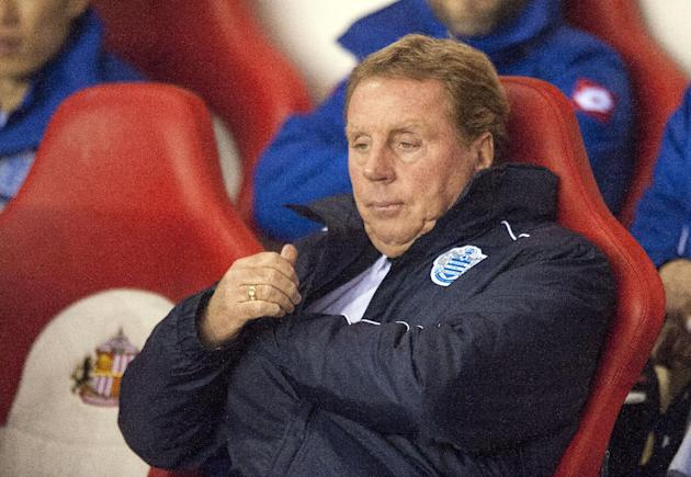 Harry Redknapp has not made any plans for the January transfer window