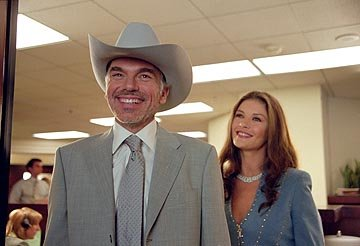 Billy Bob Thornton and Catherine Zeta-Jones in Universal's Intolerable Cruelty