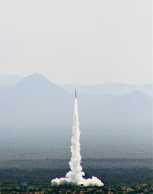 Rocket Launches Student Experiments, Human Ashes Into Space