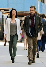 Lucy Liu, Jonny Lee Miller  | Photo Credits: Giovanni Rufino/CBS